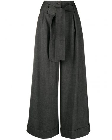 Pantalone Plane flanella melange