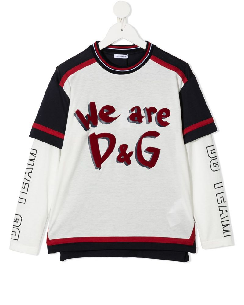 T-Shirt ml We Are D&G
