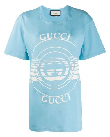 T-Shirt mm giro st.Gucci disco