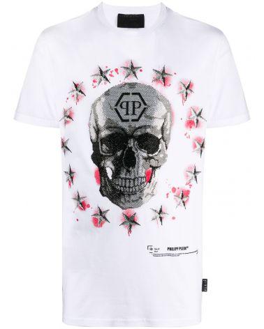 T-Shirt mm giro Stars and Skull