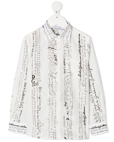 Camicia ml scritte