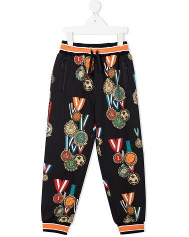 Pantalone felpa st.medaglie