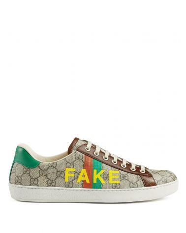 Sneaker GG supreme stripes not fake