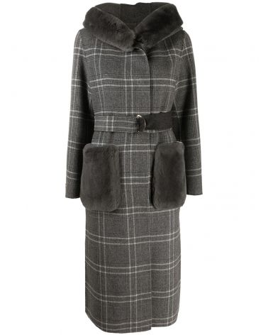 Cappotto cashmere donegal + rex