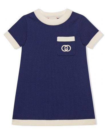 Abito lana logo GG