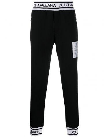 Pantalone tessuto accoppiato