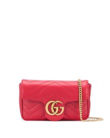 Mini borsa GG Marmont pelle matelassé