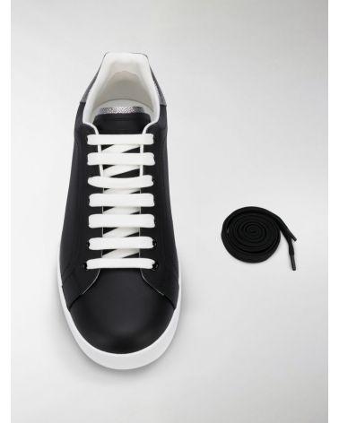 Sneaker bassa vit.nap.+dauphine lam.