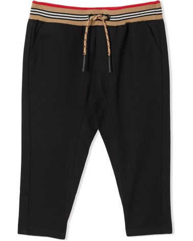 PANTALONE C/COULISSE MOTIVO RIGHE ICONICO