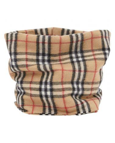 Copricollo cashmere Vintage check