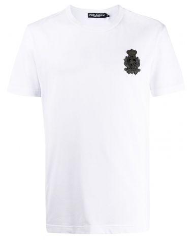 T-Shirt mm giro stemma Sacro Cuore