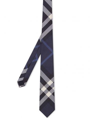 Cravatta seta classic check