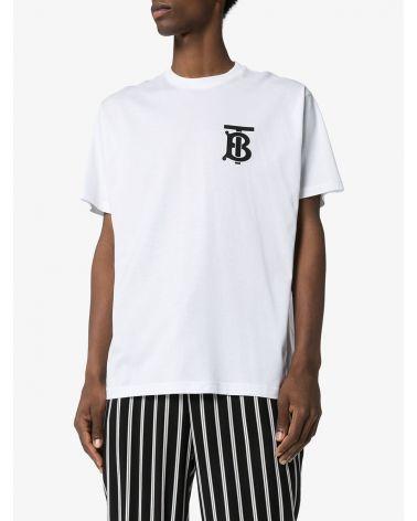 T-shirt mm giro motivo monogramma