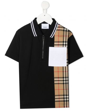 POLO MM C/ZIP VINTAGE CHECK