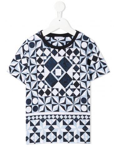T-Shirt mm giro st. cementine