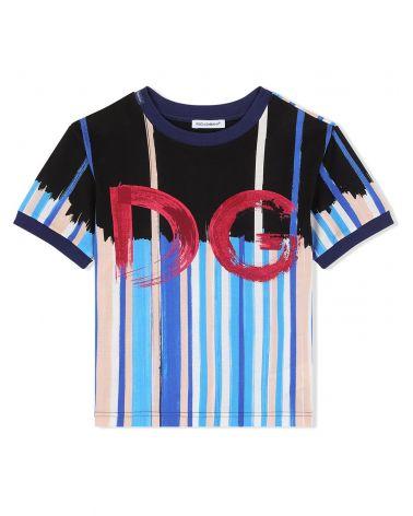 T-Shirt mm giro st.pennellate