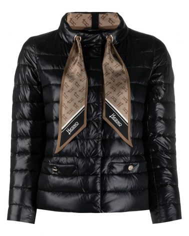Giacca nylon + foulard seta