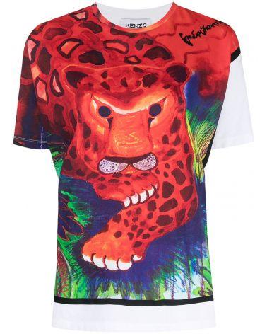 T-Shirt mm giro st.leopard  x Kansaiyamamoto