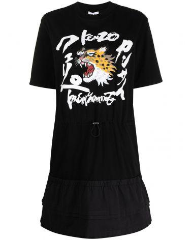 T-Shirt abito Kenzo + Kansaiyamamoto
