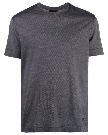 T-Shirt mm giro jacaquard diagonale