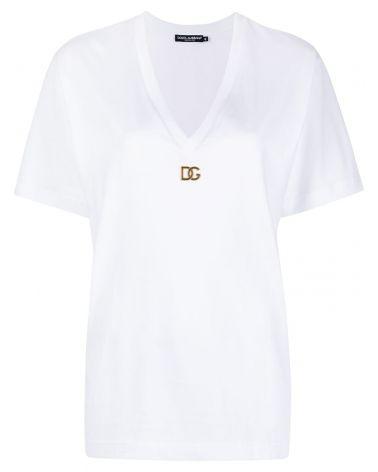 T-Shirt mm scollo V