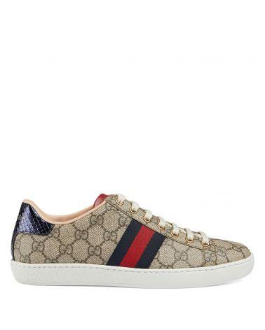 Sneaker Ace in tessuto GG Supreme
