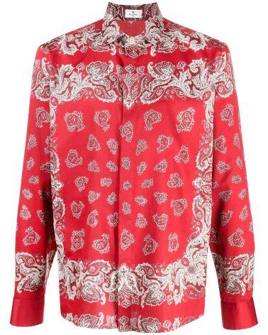 Camicia ml Etro spread placed