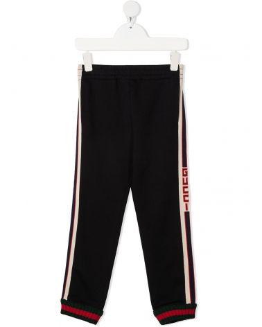 Pantalone c/finiture Gucci jacquard