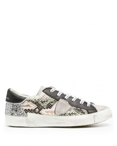 Sneaker Prsx pyton glitter