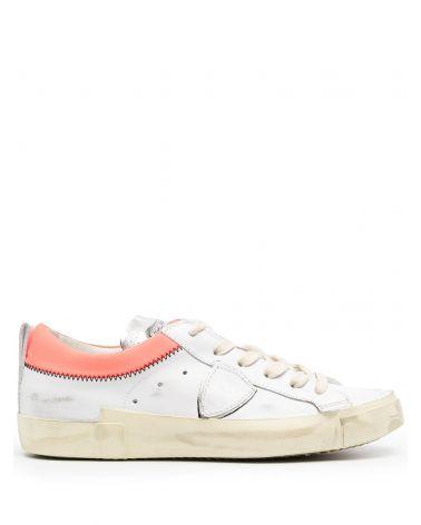 Sneaker Prsx veau collier
