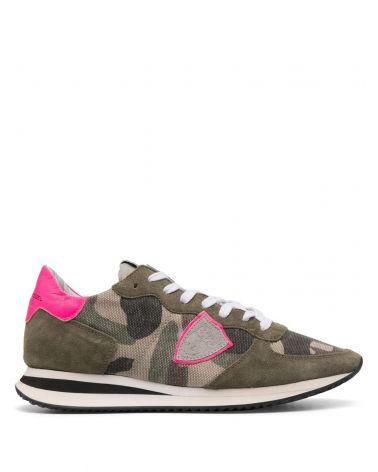 Sneaker Trpx camouflage neon