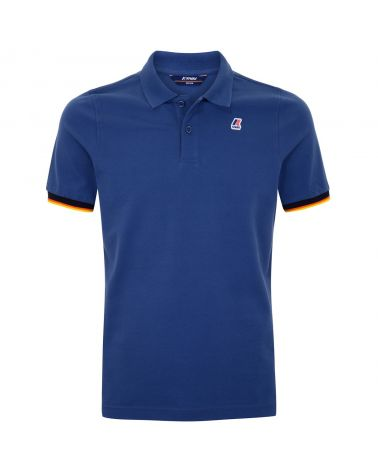 Polo mm stretch contrast Vincent