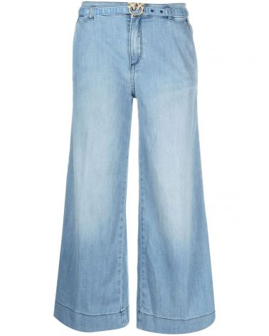 Jeans palazzo slim Peggy