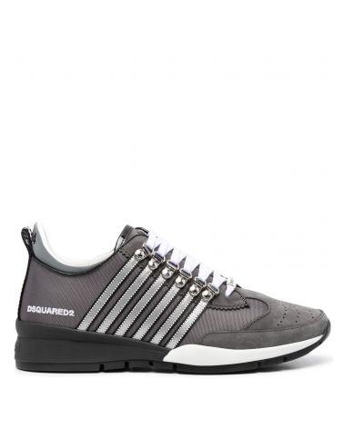Sneaker nabuk + nastro spalmato