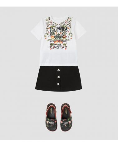 T-SHIRT MM GIRO CON STAMPA COLLAGE
