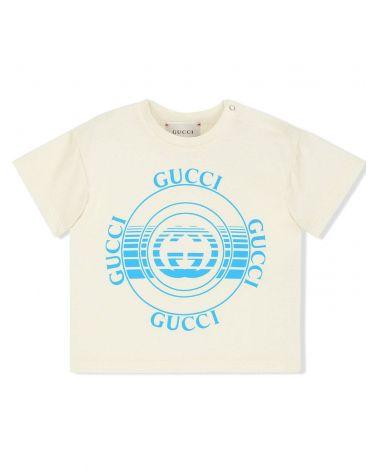 T-Shirt mm giro st.Gucci disco