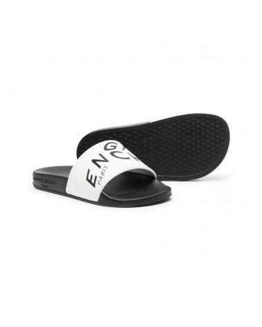 Sandalo fascia scritta