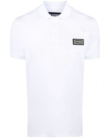 Polo mm slim fit logo metallo