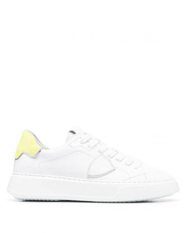 Sneaker Temple veau diamant