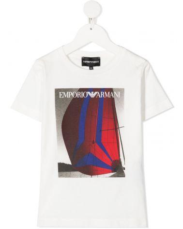 T-Shirt mm giro st.barca a vela