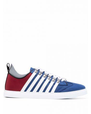 Sneaker low sole nabuk + nylon