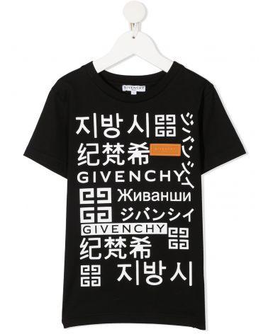 T-Shirt mm giro st.scritte