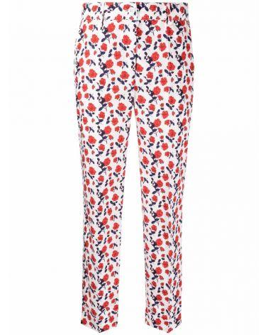 Pantalone cotone fantasia