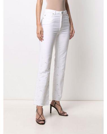 Pantalone ricamato