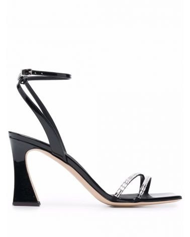 Sandalo tacco fascia catena