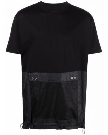 T-Shirt mm giro c/tasca grande nylon