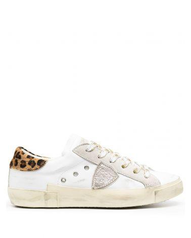 Sneaker Prsx veau leo