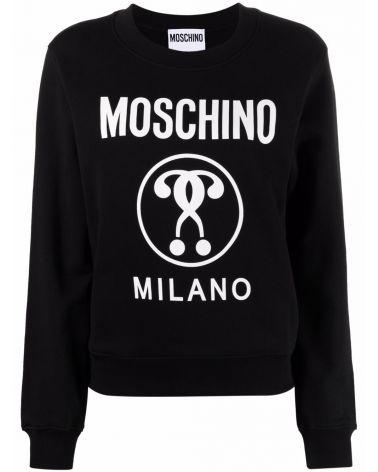 Felpa ml giro st.Moschino Milano