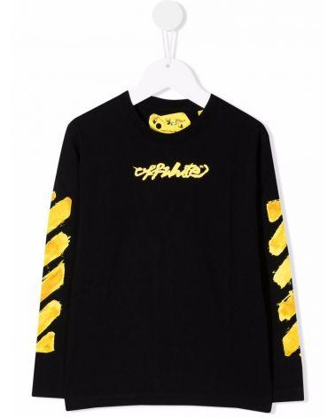 T-Shirt ml st.logo Off