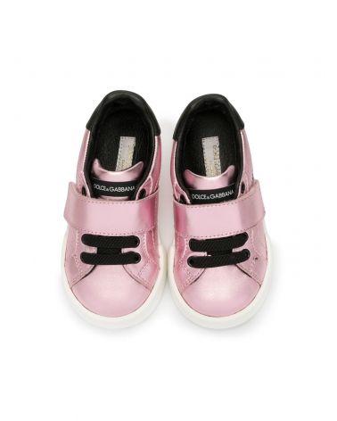 Sneaker laminato + vitello